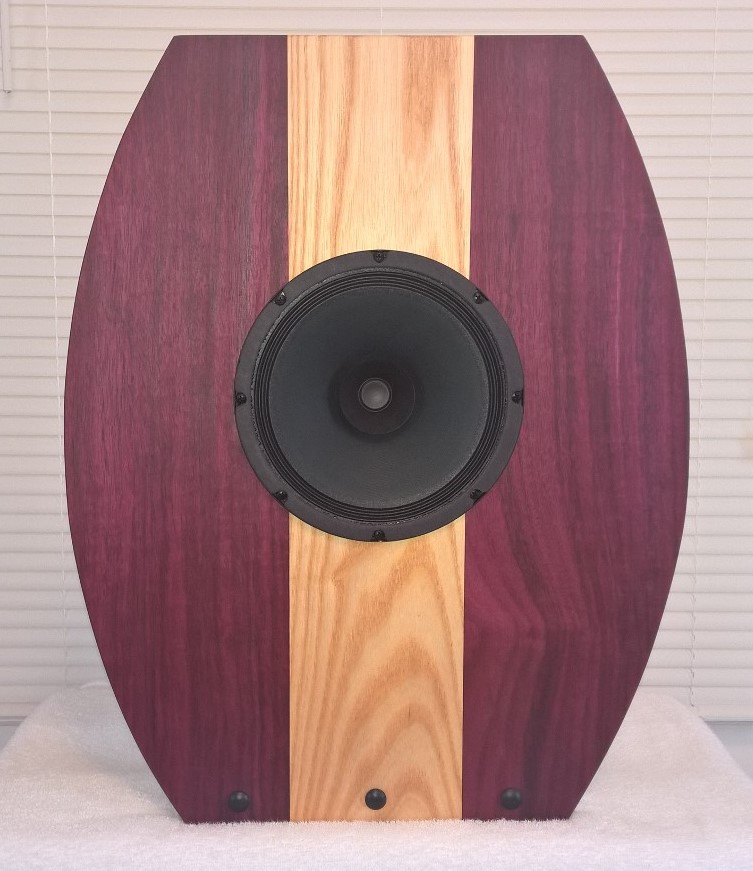 Purpleheart and maple